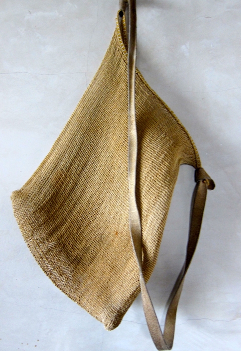 A netted carrying bag from Magdalenas Adalma, Chiapas, Mexico.