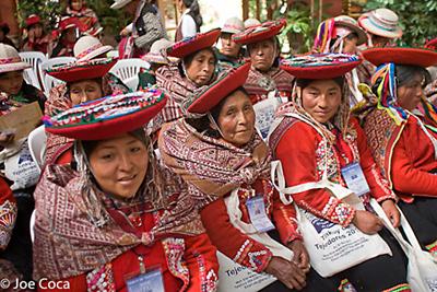 Weavers from Cusco