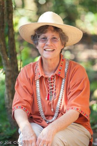 Deborah Chandler in Guatemala. Photo by Joe Coca.