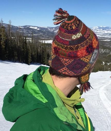 skiing chullo