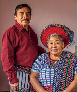 Lola Sapalú and Manuel Reanda, her husband of 40 years. Photo by Joe Coca.