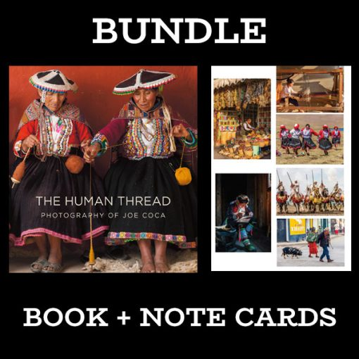 Human Thread Book and Note Card Bundle