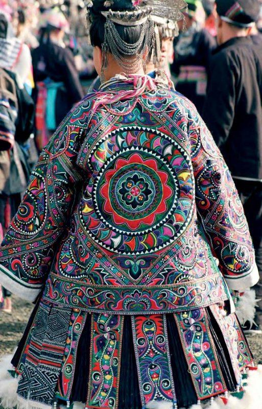 Miao textiles